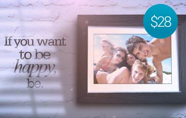 Brick Wall Photo Frames – $28