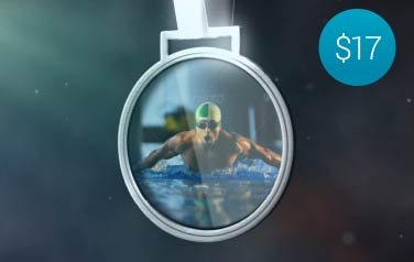 Medal Photo Holder – $17